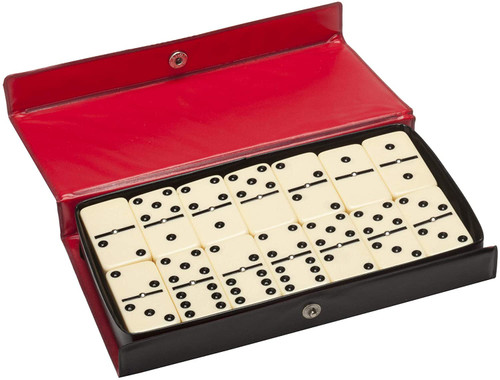 Double 6 Dominoes with Spinners