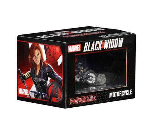 Heroclix: Black Widow w/ Motorcycle Movie