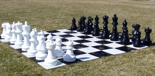 """Giant Garden Chessmen 25"""""""