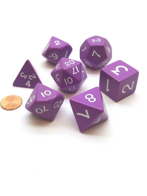 Jumbo Polyhedral Dice