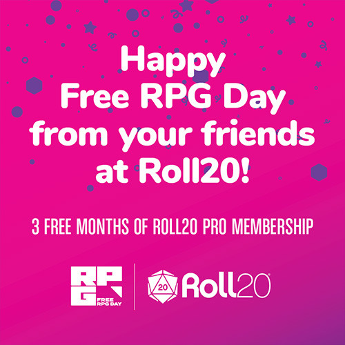 3 Months of Roll20 Pro (Mayfair In-Store Pickup Only)