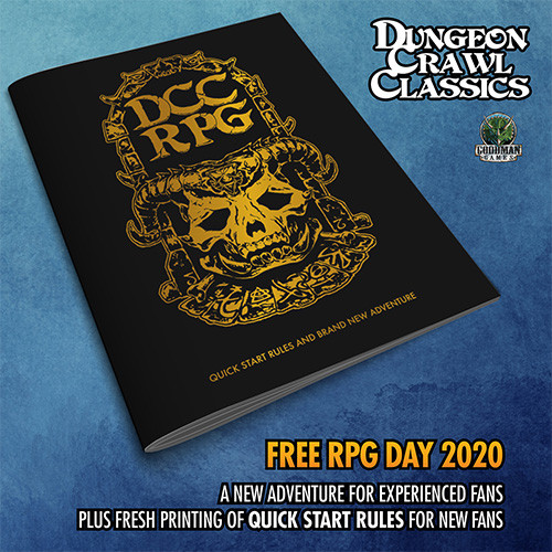 Dungeon Crawl Classics: New Adventure + Quickstart Rules (Mayfair In-Store Pickup Only) (In-Store Pickup Only)
