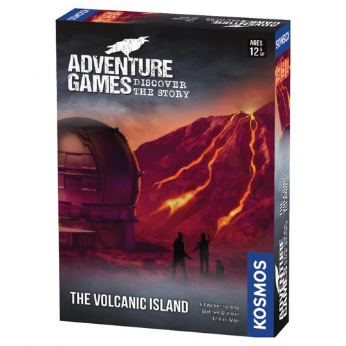 The Volcanic Island Adventure Game