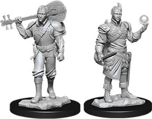 Male Half-Elf Bard—D&D Nolzur's Marvelous Miniatures