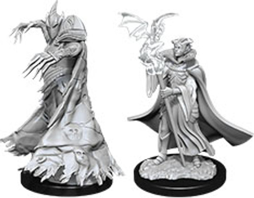 Cultist & Devil—Pathfinder Deep Cuts Unpainted Miniatures