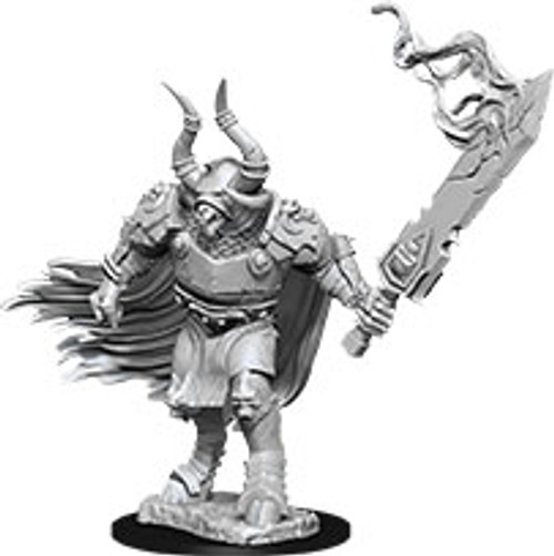 Minotaur Labyrinth Guardian—Pathfinder Deep Cuts Unpainted Miniatures