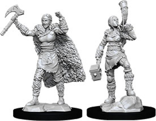 Female Human Barbarian—D&D Nolzur's Marvelous Miniatures