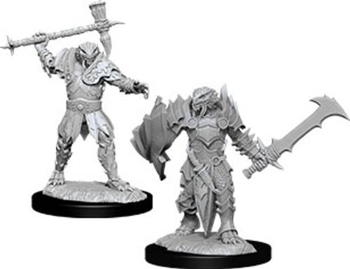 Male Dragonborn Paladin—D&D Nolzur's Marvelous Miniatures W12