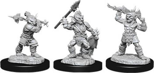 Goblins & Goblin Boss—D&D Nolzur's Marvelous Miniatures W12 (On Order)