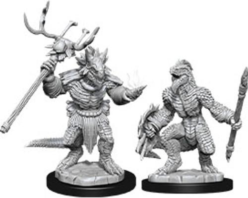 Lizardfolk & Lizardfolk Shaman—D&D Nolzur's Marvelous Miniatures (Sold Out)