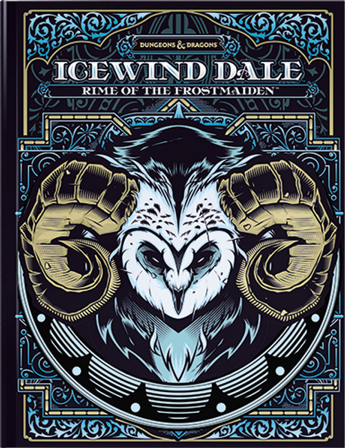 D&D Alt Art Icewind Dale: Rime of the Frost Maiden