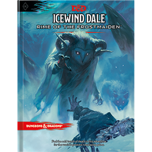 D&D Icewind Dale: Rime of the Frost-Maiden