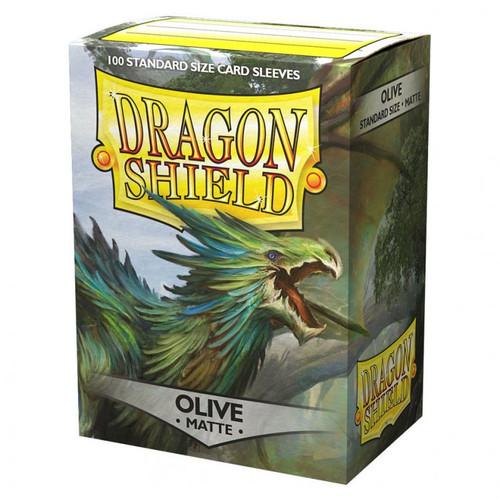 - Olive Matte Dragonshields (100