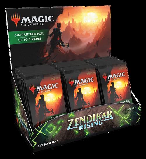 Set Booster, Zendikar Rising—Magic the Gathering (In-Store Pickup Only)