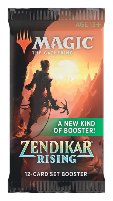 Set Booster, Zendikar Rising—Magic the Gathering (In-Store Pickup Only)