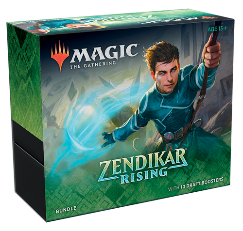 Bundle, Zendikar Rising—Magic the Gathering (DELAYED, Pre-Order, In-Store Pickup Only) (In-Store Pickup Only) (Pre-Order)