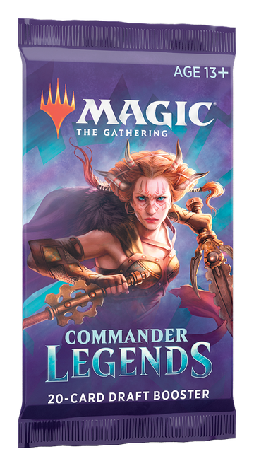 Draft Booster Commander Legends—Magic the Gathering (In-Store Pickup Only)