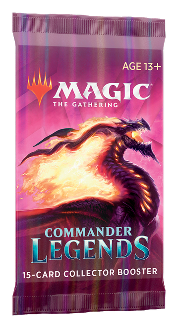Collector Booster, Commander Legends—Magic the Gathering (Pre-Order, In-Store Pickup Only) (Pre-Order)