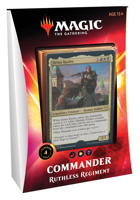 Ruthless Regiment Ikoria Commander—Magic the Gathering (In-Store Pickup Only) (Sold Out)