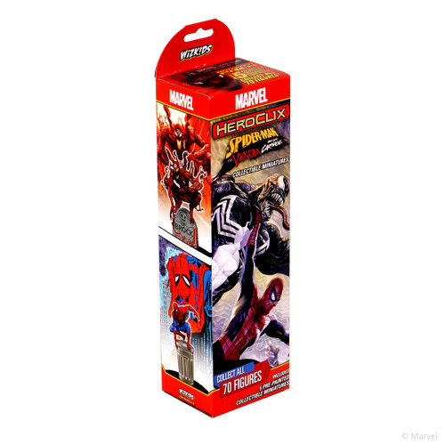 5-Figure Booster, Spider-Man and Venom Absolute Carnage—HeroClix