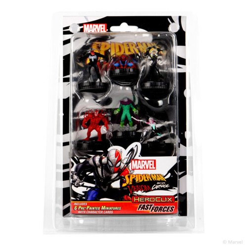 Fast Forces, Spider-Man and Venom Absolute Carnage—HeroClix