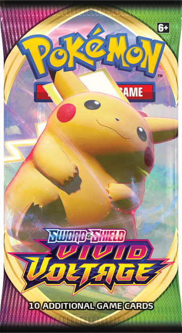 Booster Pack, Vivid Voltage—Pokémon Sword & Shield (Allocated) (On Order)