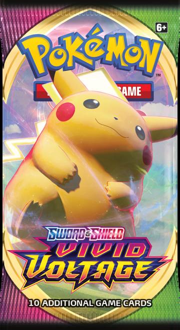 Booster Pack, Vivid Voltage—Pokémon Sword & Shield (Pre-Order)