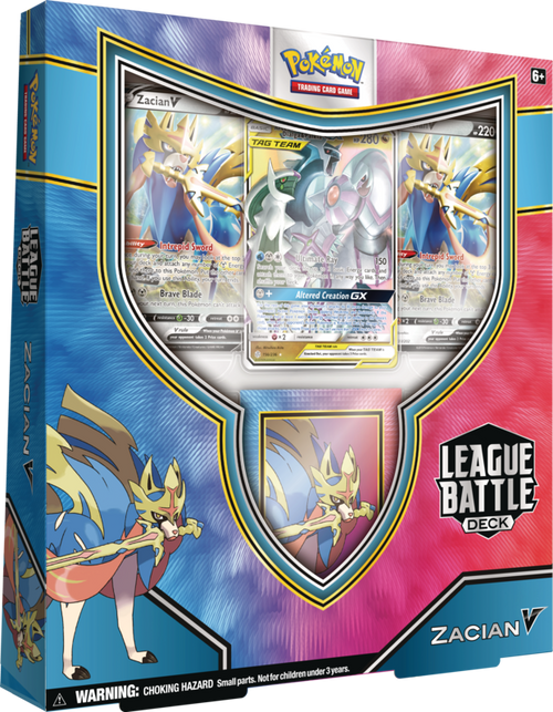 Zacian V League Battle Deck—Pokémon TCG