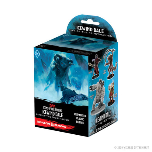 Icewind Dale Pre-painted Miniatures Booster—Icons of the Realms (Sold Out)