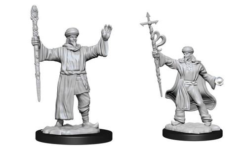 Human Wizard Male—D&D Nolzur's Marvelous Miniatures