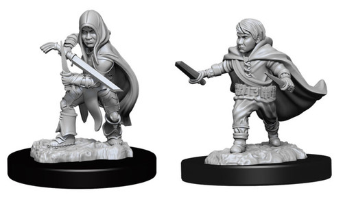 Halfling Rogue Male—D&D Nolzur's Marvelous Miniatures
