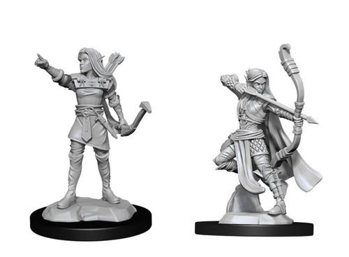 Elf Ranger Female—D&D Nolzur's Marvelous Miniatures W13