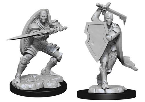 Warforged Fighter Male—D&D Nolzur's Marvelous Miniatures
