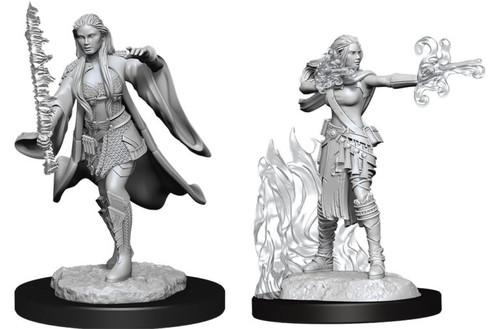 Multiclass Warlock + Sorcerer Female—D&D Nolzur's Marvelous Miniatures