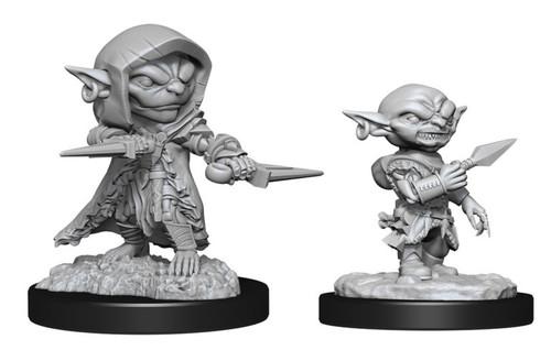 Goblin Rogue Male—Pathfinder Deep Cuts Unpainted Miniatures