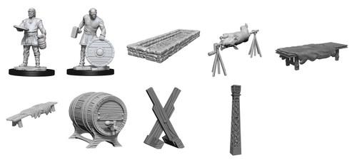 Vikings 29-Piece Scenery Set—Wizkids Deep Cuts Miniatures