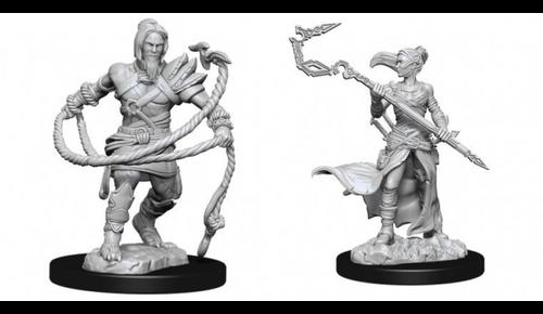 Stoneforge Mystic & Kor Hookmaster—Magic the Gathering Unpainted Miniatures