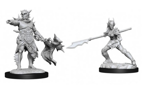 Coralhelm Commander & Halimar Wavewatch—Magic the Gathering Unpainted Miniatures