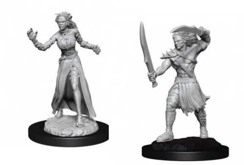 Vampire Lacerator & Vampire Hexmage—Magic the Gathering Unpainted Miniatures (Sold Out)