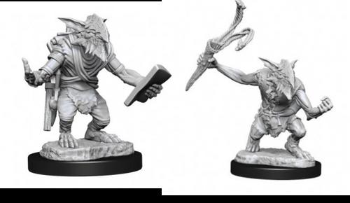 Goblin Guide & Goblin Bushwhacker—Magic the Gathering Unpainted Miniatures