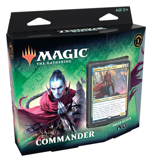 Sneak Attack Commander Deck, Zendikar Rising—Magic the Gathering (In-Store Pickup Only) (Sold Out)