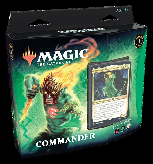 Land's Wrath Commander Deck, Zendikar Rising—Magic the Gathering (In-Store Pickup Only)