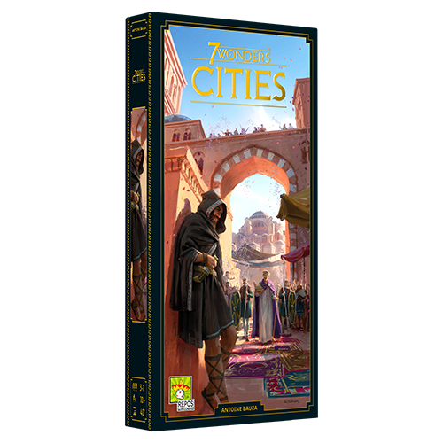 7 Wonders: Cities, New Edition (Expansion, Pre-Order) (Pre-Order)