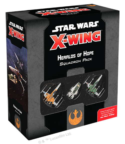 Heralds of Hope Squadron Pack—Star Wars: X-Wing Second Edition (Pre-Order)