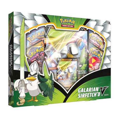 Galarian Sirfetch'd V Box—Pokémon TCG