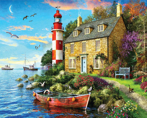The Cottage Lighthouse 1000pc
