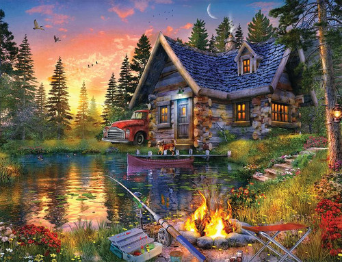 Sun Kissed Cabin 500pc (Sold Out)