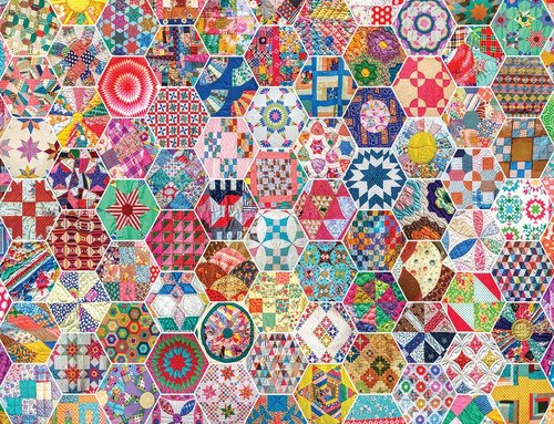Crazy Quilts 500pc
