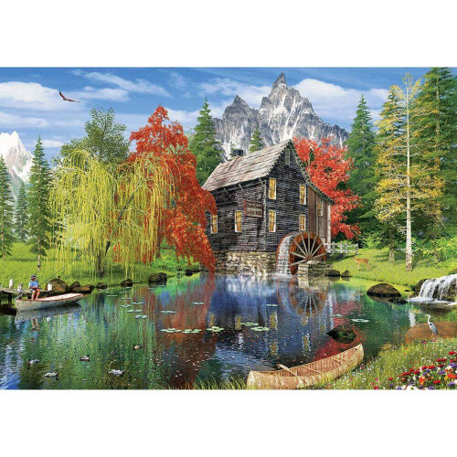 Fishing by the Mill 1500pc (Sold Out)