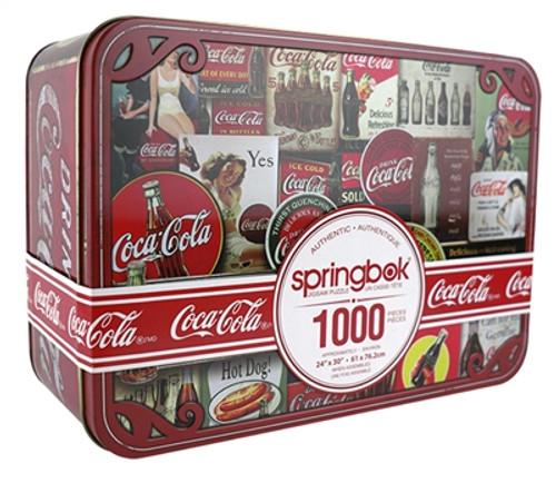 Coca-Cola Tin Signs 1000pc (Collectors Tin)